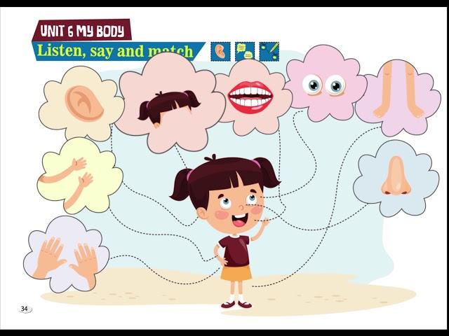 Listen, Say and Match - Cim and Cimcime - Okul Öncesi İngilizce Eğitim