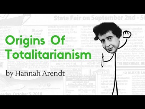 Origins of Totalitarianism - Hannah Arendt