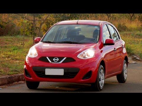 Nissan March 1.0 S 2016 - teste, consumo, desempenho e detalhes - www.car.blog.br