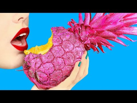 10 Pineapple Hacks And DIYs/ Summer Decor Ideas