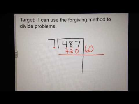 The Forgiving Approach to Lengthy Division in fifth Grade Math