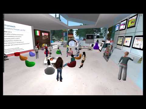 "SLMOOC17 June 17th Almost French, Virtually"" Situated Language Practice in Virtual Worlds"