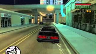 GTA San Andreas How To Obtain The CP Sentinel From The Green Sabre No Cheats