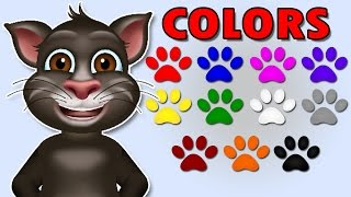 Colors For Children To Learn With Tom Cat | Kids Learning Videos | Color Lesson For Children