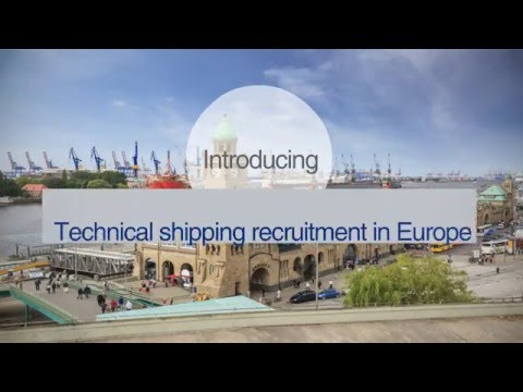Technical shipping jobs in Europe