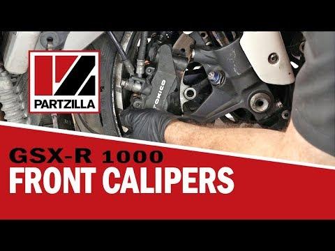 GSXR Caliper Rebuild   Suzuki GSXR 1000   Partzilla.com