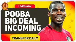 Pogba Talks Begin! Sancho Update! Man Utd Transfer News