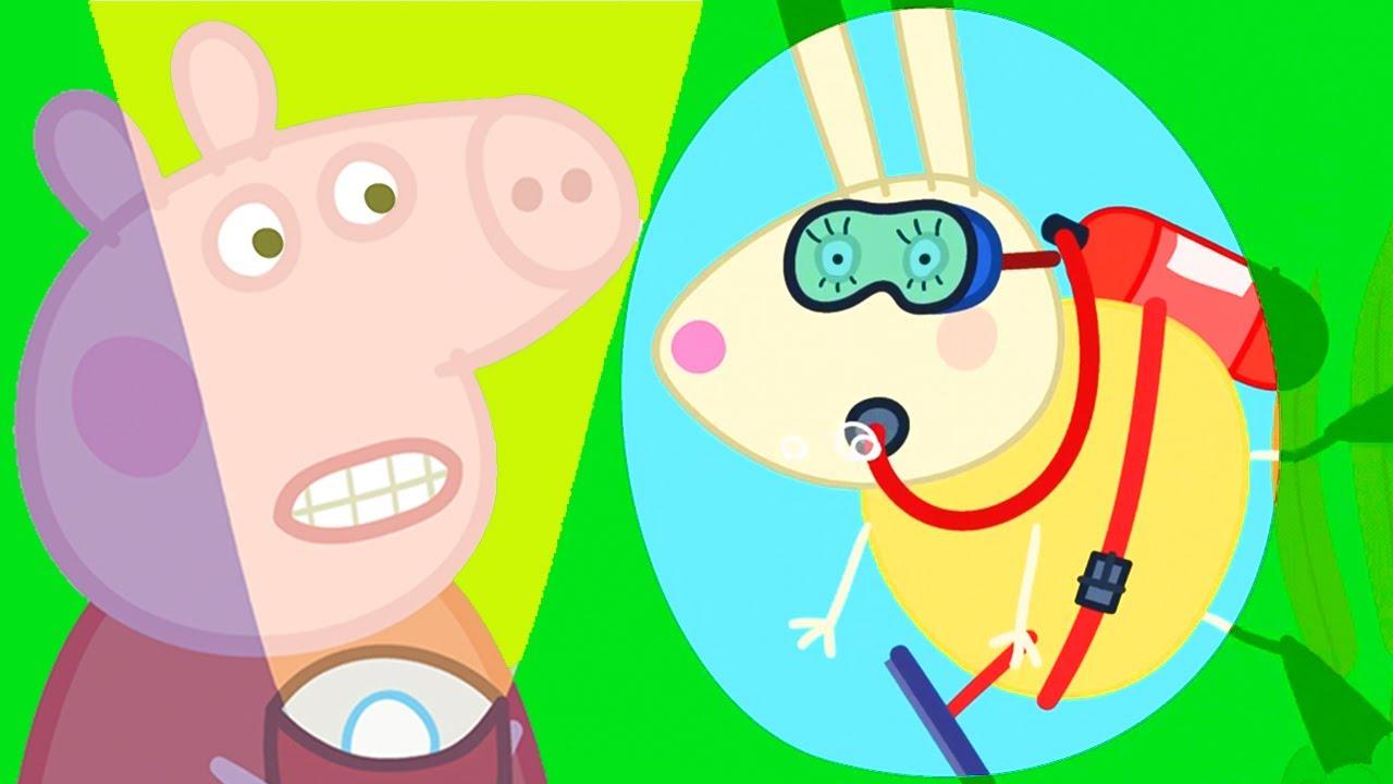 Peppa Pig en Español Episodios completos | A Nadar y Acuario | Pepa la cerdita