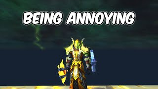 Being Annoying - Protection Paladin PvP - WoW BFA 8.1.5