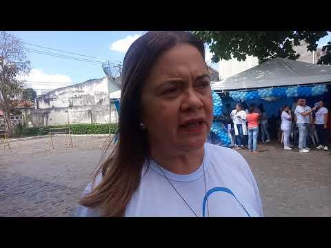 II Feira de Saúde do Hospital Dom Pedro de Alcântara- Sandra Peggy -Diretora da Santa Casa