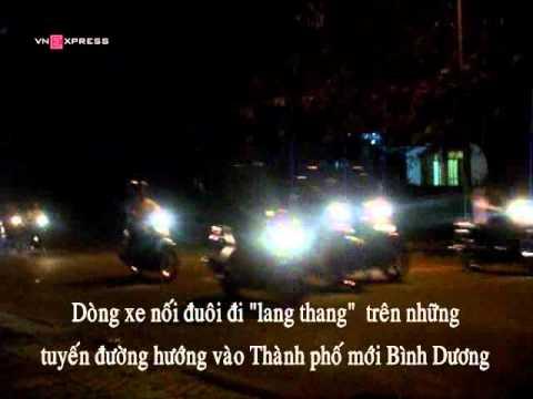 Clip  di bao  o Binh Duong