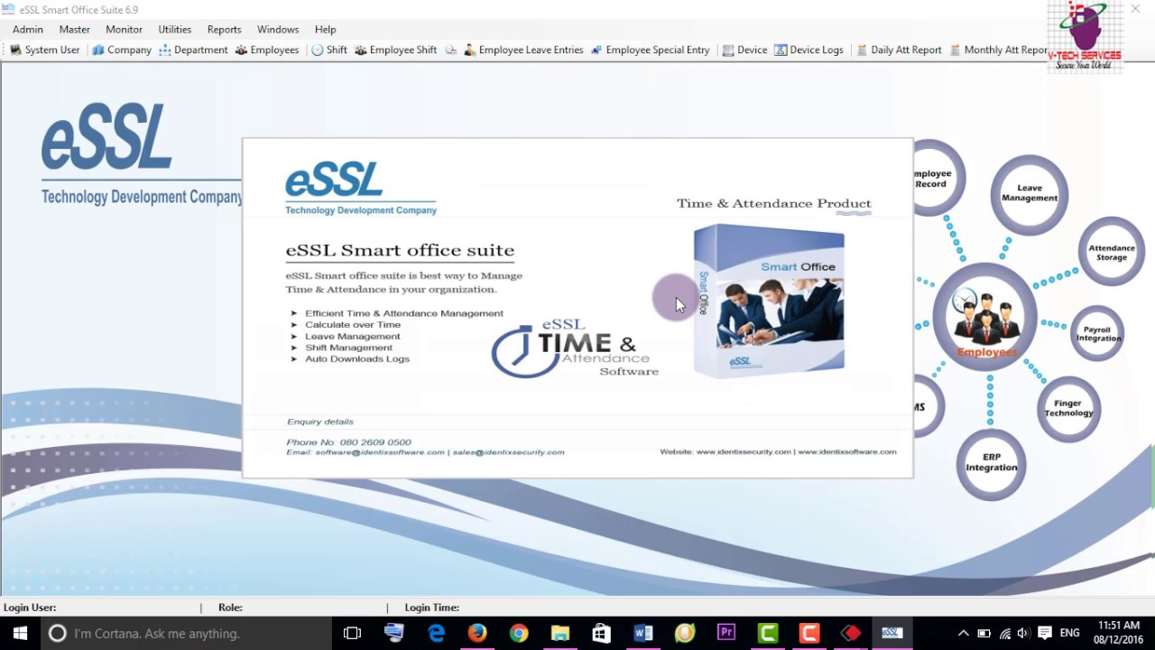 How To Resolve Essl Smart Office Suite Unhandled Exception