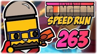 Convict Speedrun | Part 263 | Let's Play: Enter the Gungeon: Any% Speed Run | PC Gameplay