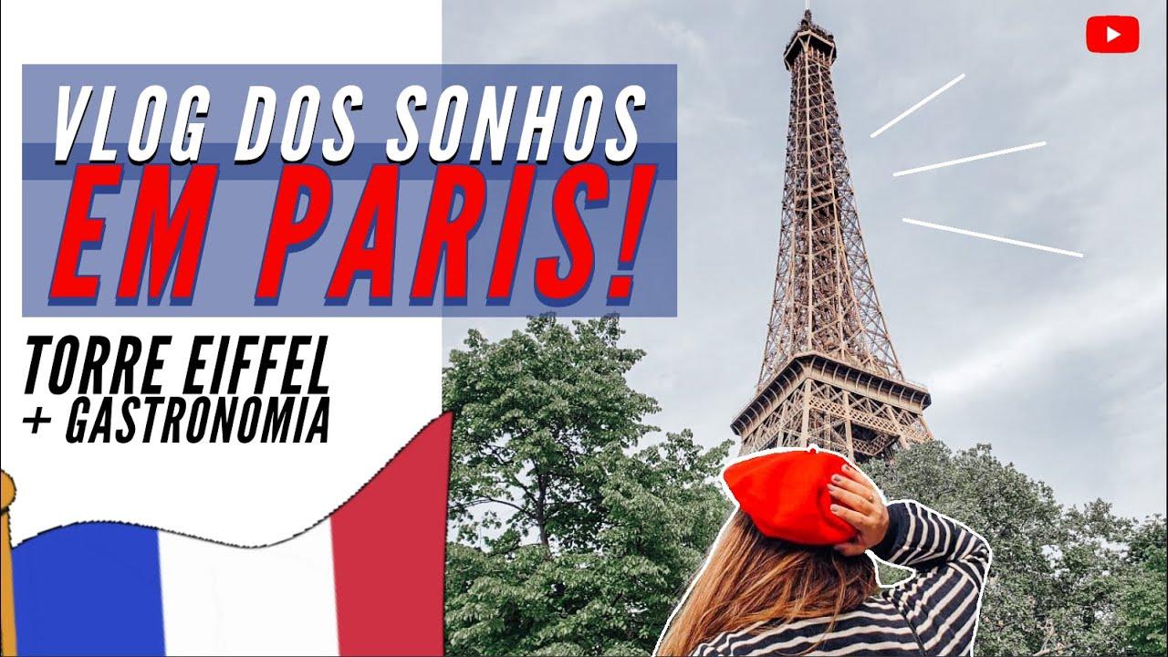 NOSSA PRIMEIRA VEZ NA TORRE EIFFEL | LUA DE MEL EM PARIS COMENDO ENTRECÔTE COM FRITAS! #20