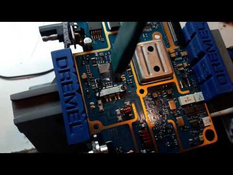 Cambio transistor motorola pro 5100 /Transistor Replacement motorola pro 5100