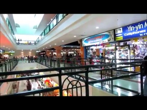Solar panels and a tour of Marymart Mall in Iloilo City, Philippines