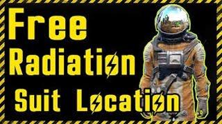 Fallout 4: Where to get the Radiation Suit (Hazmat Suit Location)