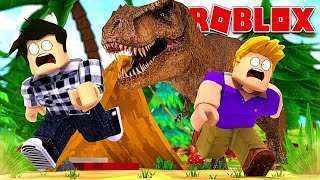 THE WORLD'S PIRE CAMPING CHEZ THE DINOSAURES! Roblox Extinction