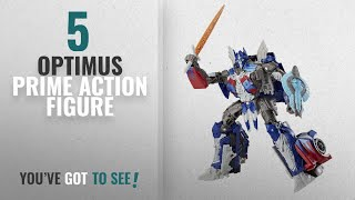 Top 10 Optimus Prime Action Figure [2018]: Transformers: The Last Knight Premier Edition Voyager