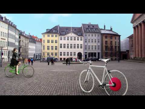 Between the Copenhagen Wheel and the FlyKly Smart Wheel, Powered Bicycle Wheels are On the Way