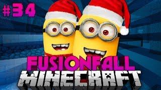 WEIHNACHTSMANN... BIST DU ES?! - Minecraft Fusionfall #034 [Deutsch/HD]