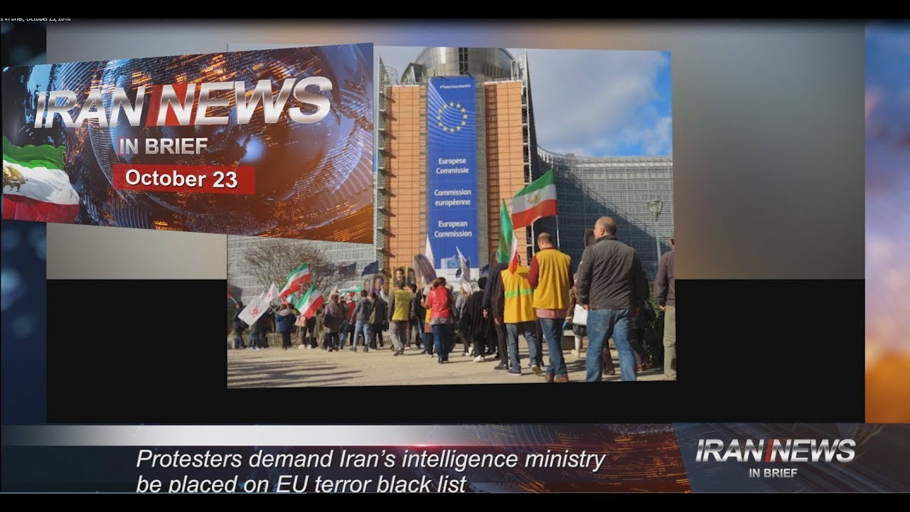 Iran news in brief, October 23, 2018