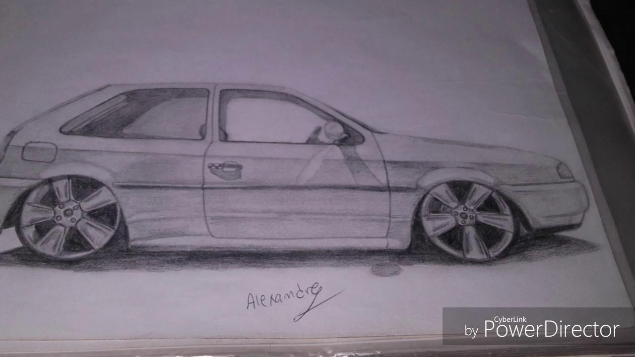 Gol Quadrado Desenhos De Carros Alexandre Ribeiro Youtube