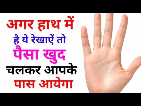 हस्तरेखा मे करोड़पति योग ! Palm reading guide ! Palm reading chart ! Hastrekha gyan in hindi