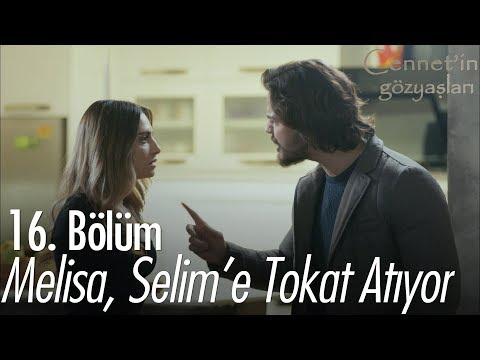 Melisa, Selim'e tokat atıyor - Cennet'in Gözyaşları 16. Bölüm