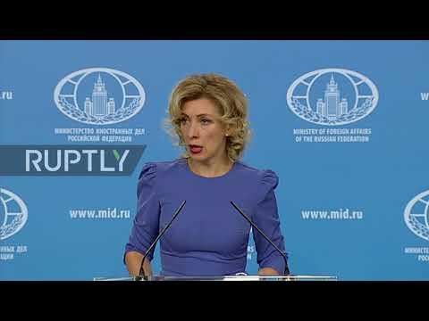 Russia: Syria humanitarian crisis 'shamelessly exploited for political ends' – Zakharova