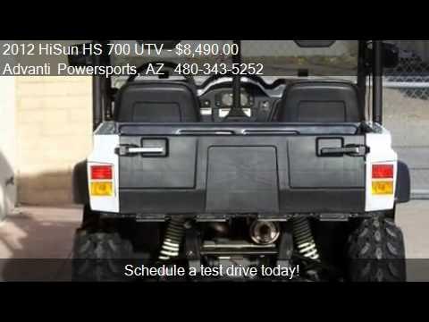 2012 Hisun Hs 700 Utv 4x4 Side By Side For Sale In Mesa A Youtube