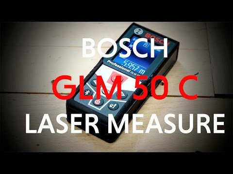 Bosch GLM 50 C Professional Laser Measure From Toolstop.co.uk