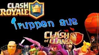 Clash Royale Deutsch #011 Handy Angreifen mit Truppen aus Clash of Clans