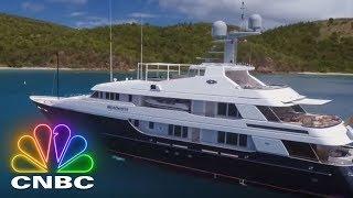 Secret Lives Super Rich: Climb Aboard A $280,000 Per Week Super Yacht | CNBC Prime