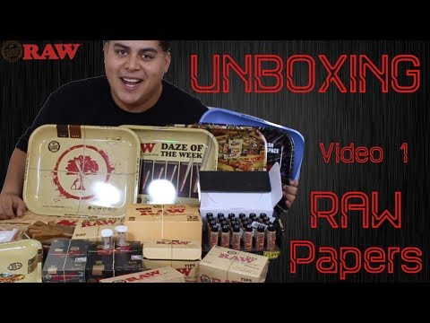 Unboxing Video 1 : Raw Ambassador Box