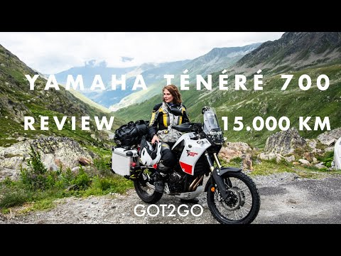 YAMAHA TÉNÉRÉ 700: The BEST motorcycle to travel? REVIEW after 15.000 kilometers on the road