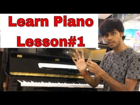 Learn piano basics: Hindi Tutorial Lesson#1 with Jatin Swaroop #Pianolessons