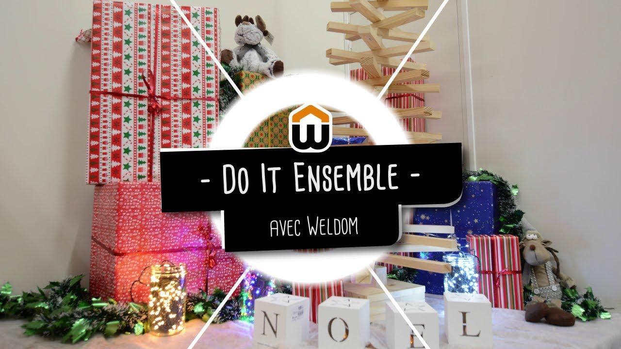 Baguette En Bois Decorative do it ensemble : créer son sapin de noël en bois
