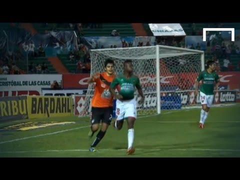 Celebration cut short by defender