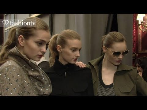 Roland Mouret Backstage - Paris Fashion Week Fall 2011 | FashionTV - FTV.com