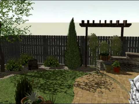 Sketchup 3d Landscape Design on Sketchup Backyard id=44152