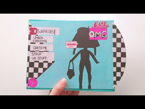 unboxing homemade omg lol doll