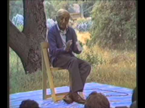 What is right action with regard to violence? | J. Krishnamurti