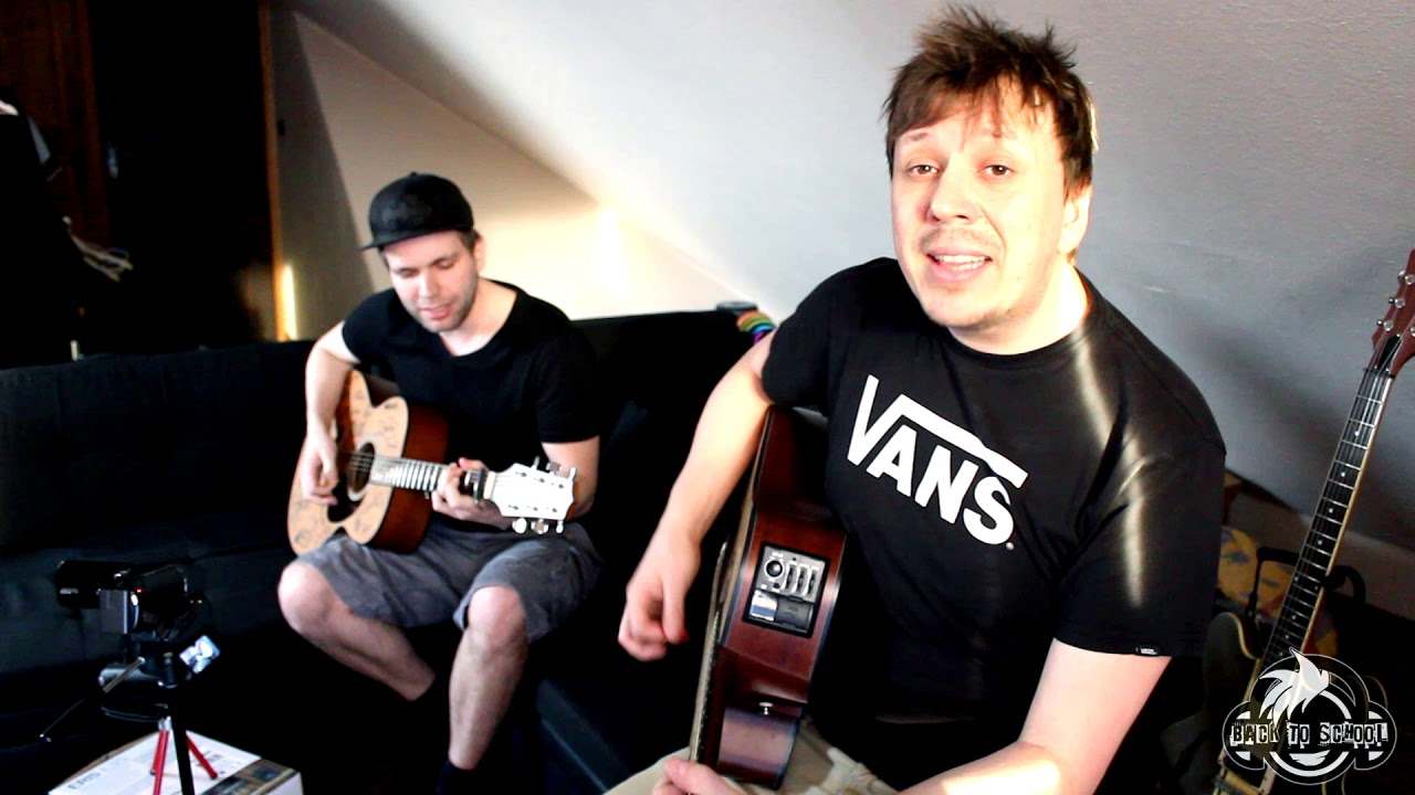 Green Day - Boulevard Of Broken Dreams (Cover by Back to School)