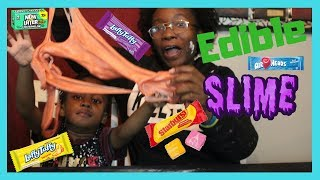 OMG IT WORKS!! MAKING EDIBLE SLIME OUT OF CANDY