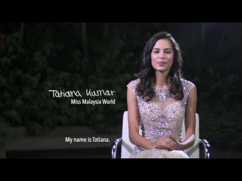 Tatiana Kumar Miss World Malaysia 2016: Introduction