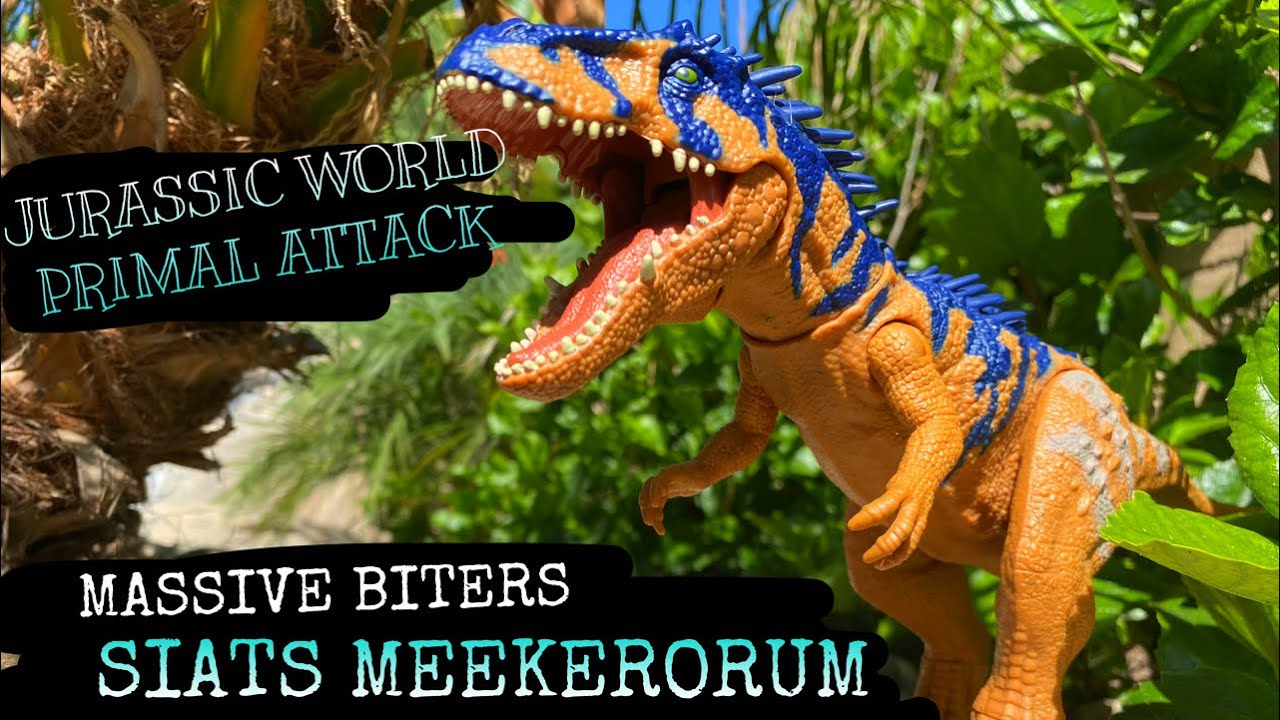 JURASSIC WORLD MASSIVE BITERS SIATS MEEKERORUM REVIEW!!