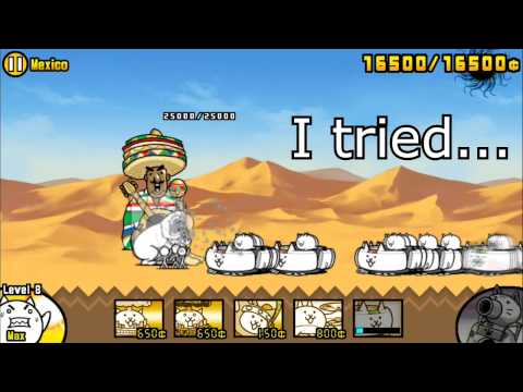 Battle Cats - ATTACK ON MEXICO BY BUILDING A WALL
