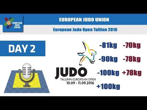 European Judo Open - Tallinn 2016 - DAY 2