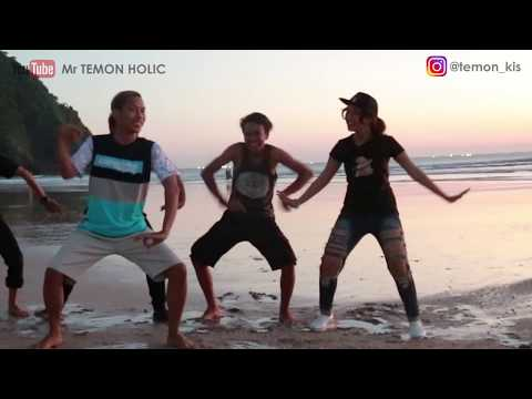 Mr TEMON HOLIC - Joget Bareng Di Pulau Merah || ONE NADA Banyuwangi Part III
